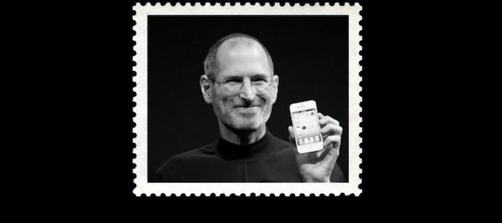 Steve Jobs na znaczku pocztowym w USA