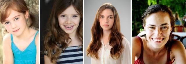 Trzy różne aktorki w roli Lisy Jobs