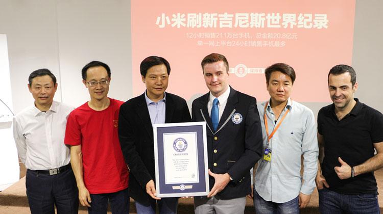 Xiaomi - zespół z wyróżnieniem rekordu Guinnesssa
