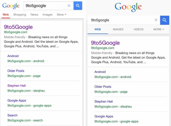 Google testuje nowy wygląd mobilnego interfejsu wyszukiwania
