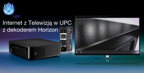 Testujemy Mega Internet i TV w UPC z dekoderem Horizon