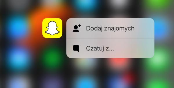 Snapchat 9.18 z nowymi funkcjami
