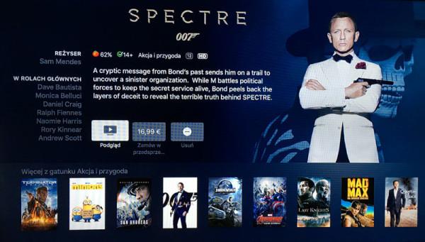 iTunes Movies już działa na Apple TV