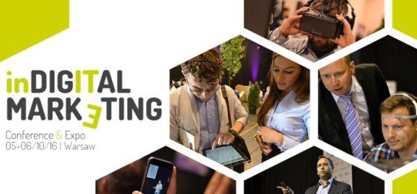 Szczegóły programu In Digital Marketing 2016!