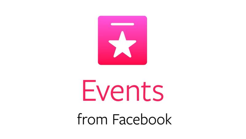 Events - aplikacja Facebooka