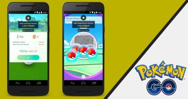 Dzienne bonusy w grze Pokémon GO