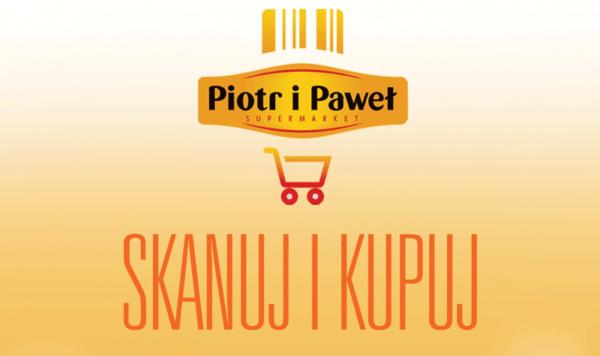 """""""Skanuj i Kupuj"""" w sieci supermarketów Piotr i Paweł"""
