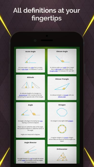 Pythagorea 60°: Geometry on Triangular Grid (screen iOS)