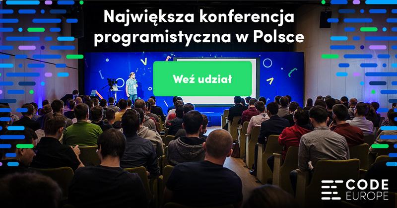 Code Europe 2017 - weź udział!