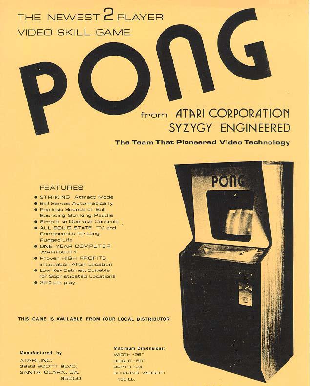 Pong firmy Atari