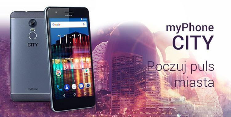 myPhone CITY - Poczuj rytm miasta