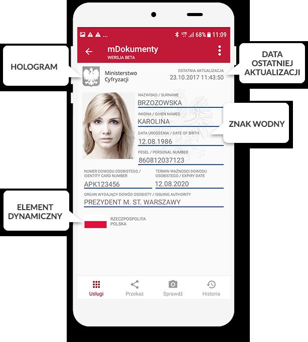 Zabezpieczenia w aplikacji (potwierdzające ważność, wiarygodność i bezpieczeństwo danych)