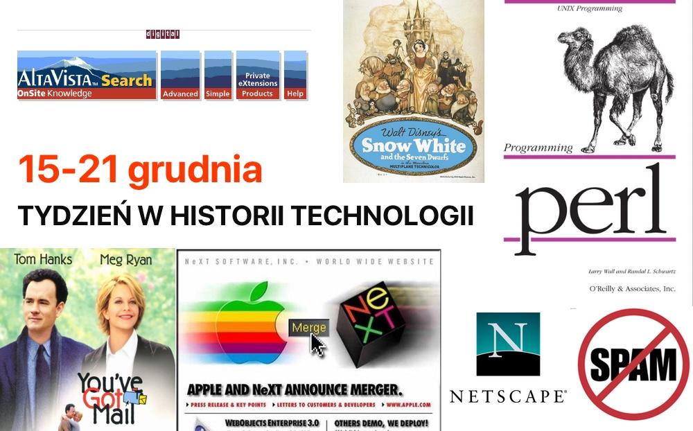 15-21 grudnia: Tydzień w historii technologii