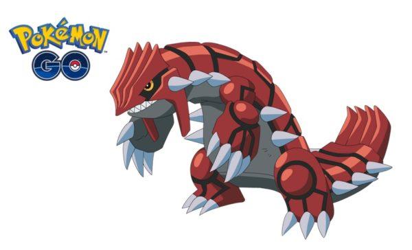 Groudon w raidach Pokémon GO do 15 stycznia!
