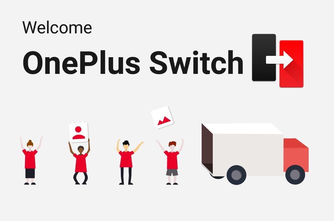 """Aplikacja mobilna """"OnePlus Switch"""""""