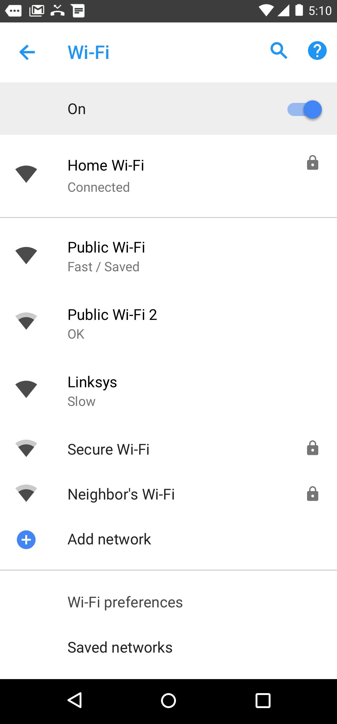 Szybkość Wi-Fi