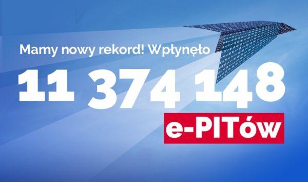 W tym roku Polacy wysłali 11,3 mln PIT-ów przez internet! [rekord]