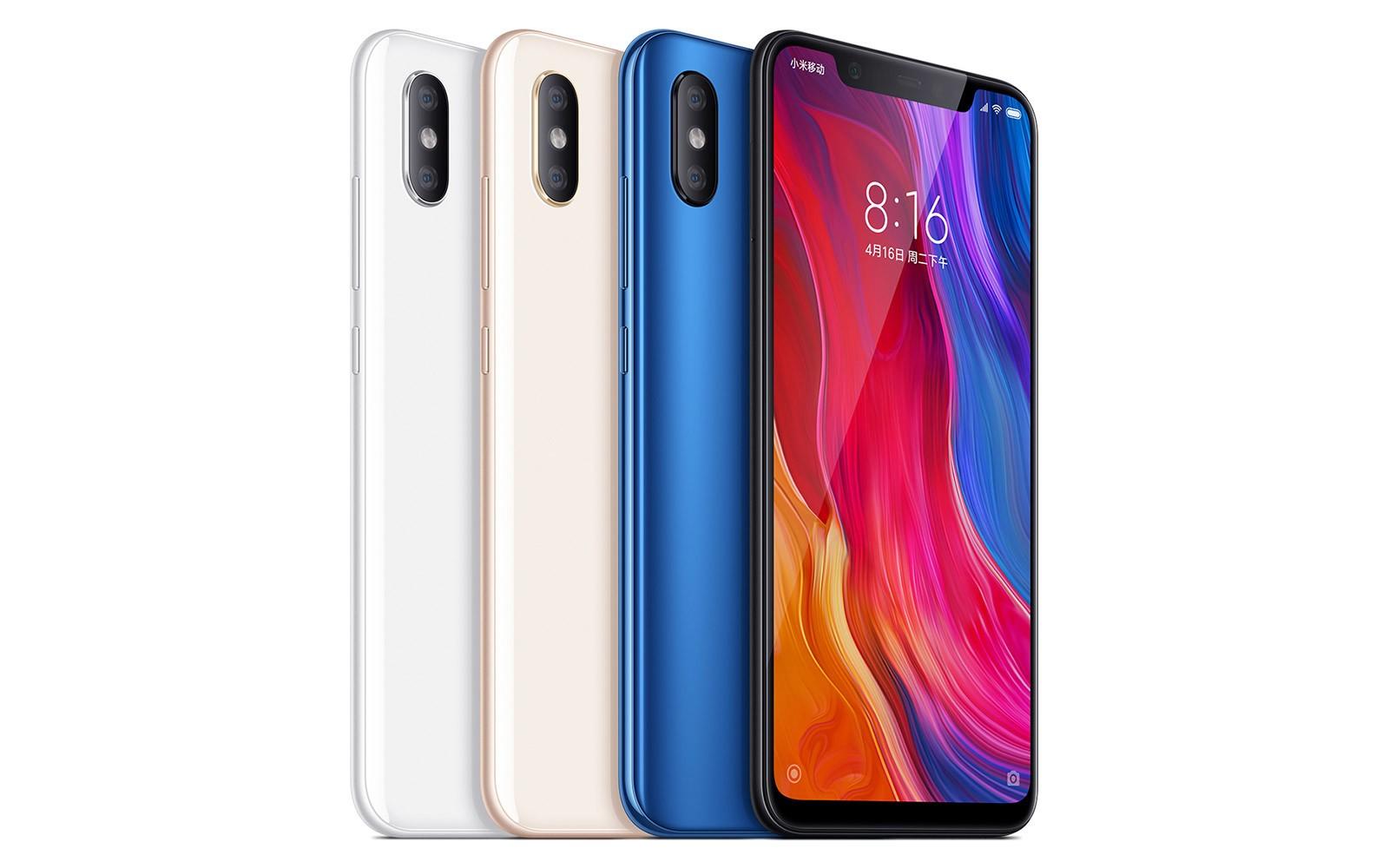 4 wersje kolorystyczne chińskiego smartfona