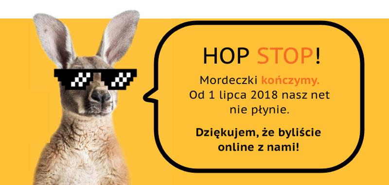 WebHop przestaje działać od 1 lipca 2018 r.