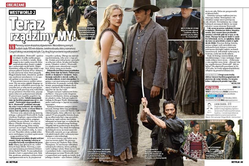 Netfilm (nr 3/2018) Westworld 2