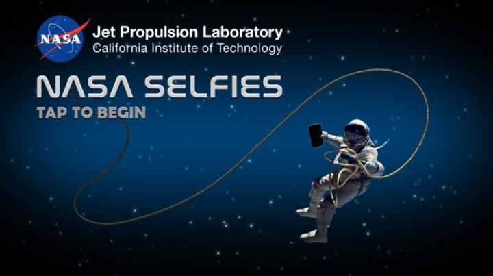 NASA Selfies - aplikacja mobilna