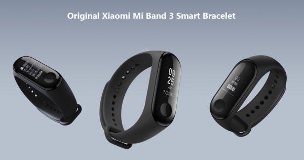 Opaska Xiaomi Mi Band 3 w świetnej cenie na GearBest