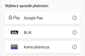 Google Pay w JakDojadę