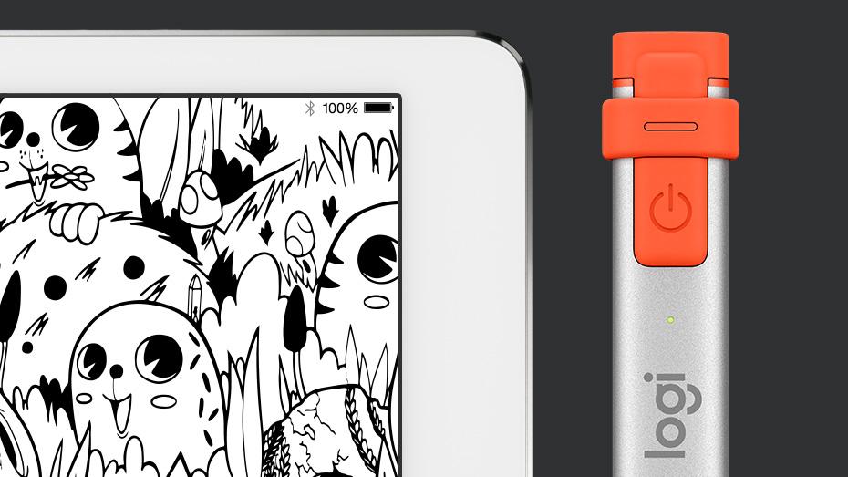 Logitech Crayon dla 9,7-calowego iPada 6. generacji