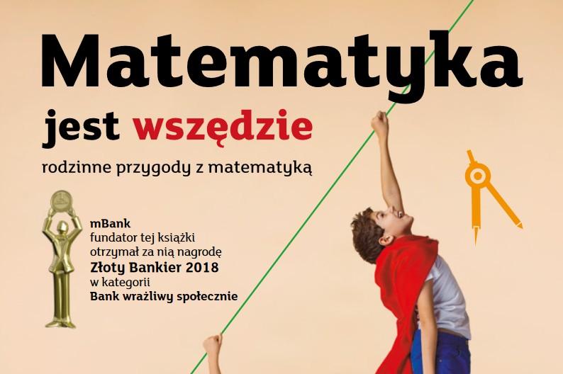 Matematyka jest wszędzie - okładka książki