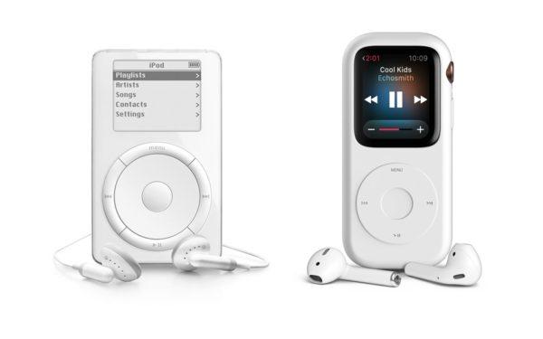 Apple Watch Series 4 w etui przypominającym iPoda?