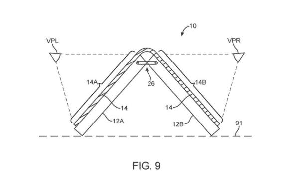Nowy patent elastycznego wyświetlacza iPhone'a od firmy Apple