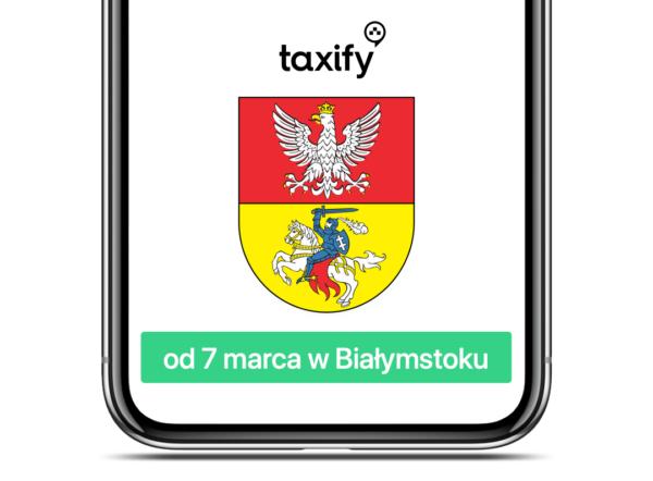 Taxify w Białymstoku już od 7 marca 2019 r.