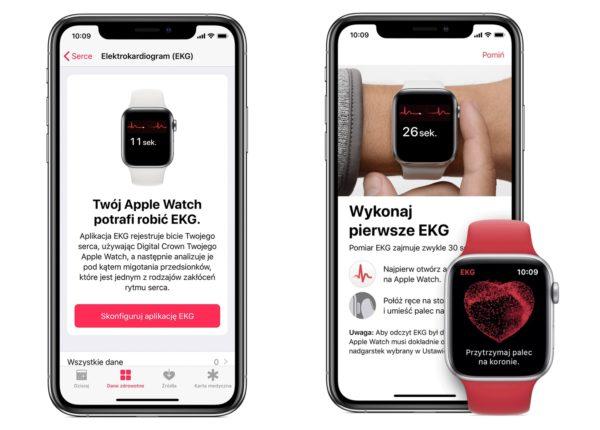 Funkcja EKG wreszcie dostępna na Apple Watchach w Polsce!