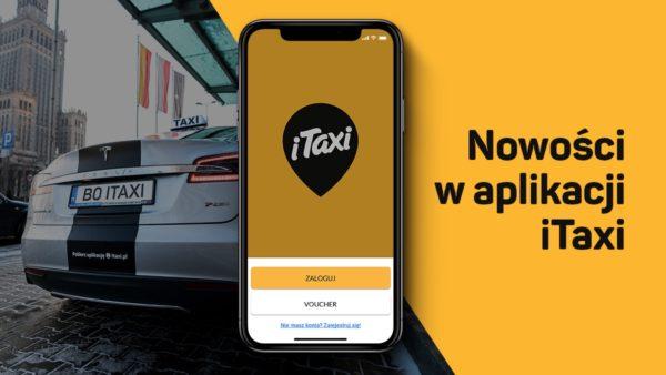 Kursy na żądanie i z voucherem B2B w aplikacji iTaxi