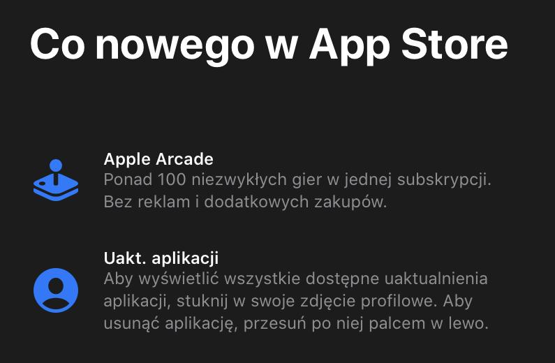 Co nowego w sklepie App Store?
