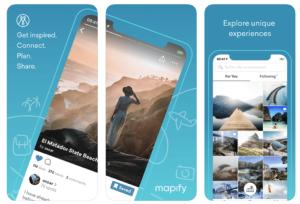 """Aplikacja mobilna """"Mapify - Your Trip Planner"""""""