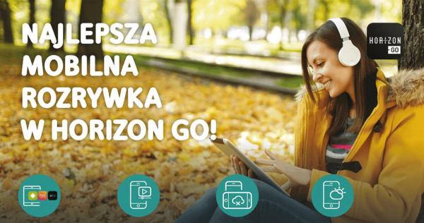 W aplikacji Horizon Go od UPC można oglądać już 157 kanałów TV