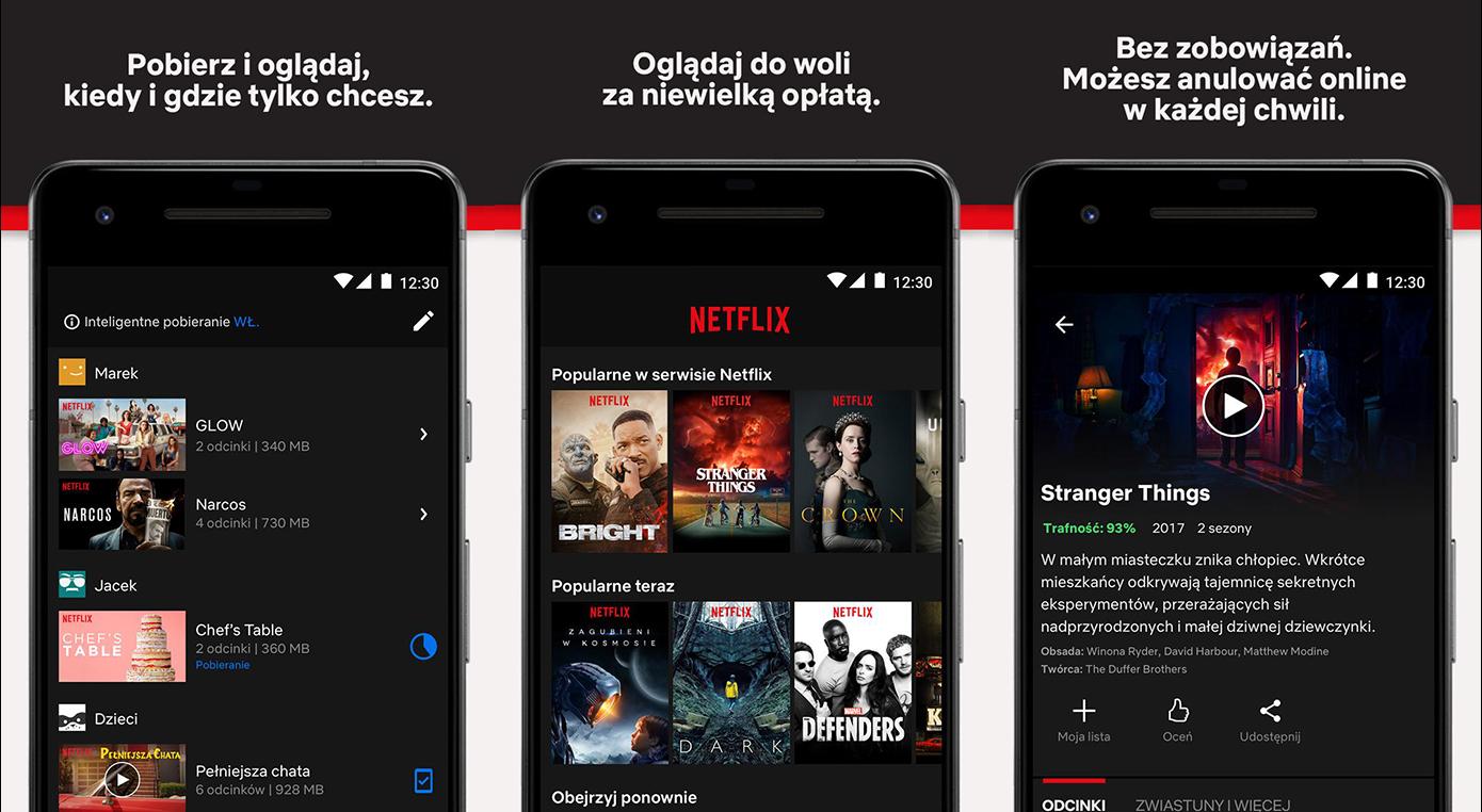 Tańszy dostęp do Netflixa na urządzenia mobilne