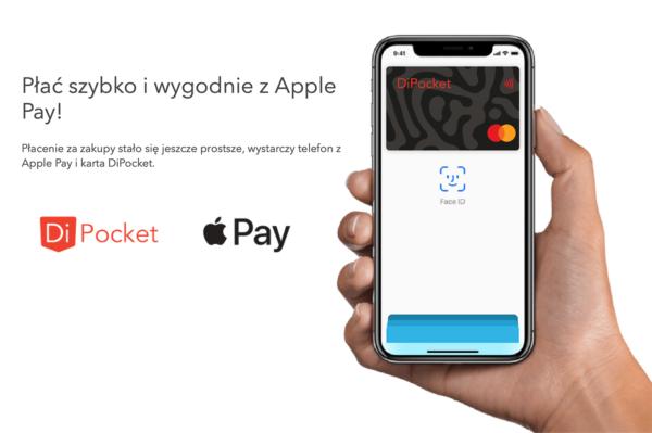 Apple Pay już dostępny dla użytkowników DiPocket w Polsce