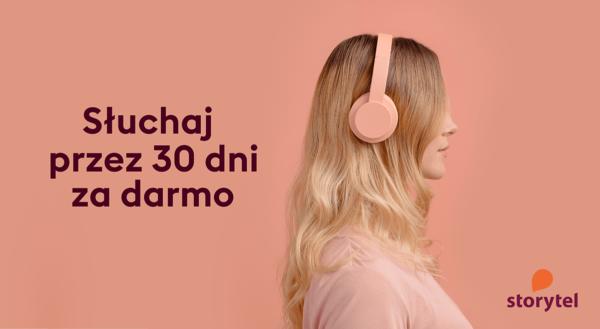 Storytel z dostępem do wszystkich audiobooków na 30 dni za darmo