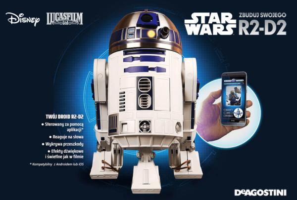 Zbuduj kultowego robota R2-D2 z kolekcją De Agostini