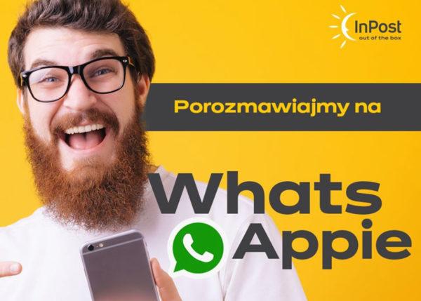 InPost uruchomił 1. w Polsce chatbota na WhatsAppie