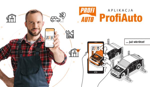 Aplikacja ProfiAuto pozwoli Ci skorzystać z warsztatu samochodowego bez wychodzenia z domu
