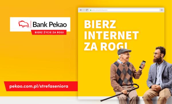 """""""Strefa Seniora"""" ma budować wirtualną społeczność starszych klientów Pekao SA"""