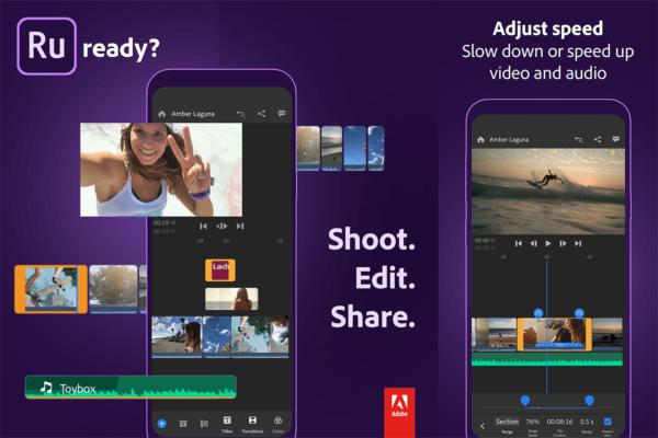 """Edytuj filmy w aplikacji mobilnej """"Adobe Premiere Rush"""" jak zawodowiec"""