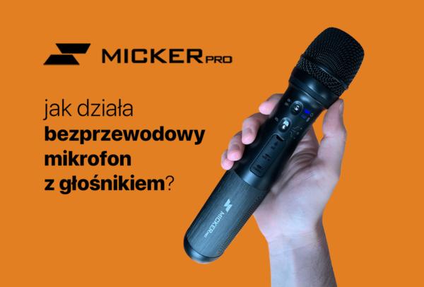 Bezprzewodowy mikrofon z głośnikiem Micker Pro pomoże Cię usłyszeć!