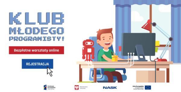 Klub Młodego Programisty… teraz w Twoim domu!