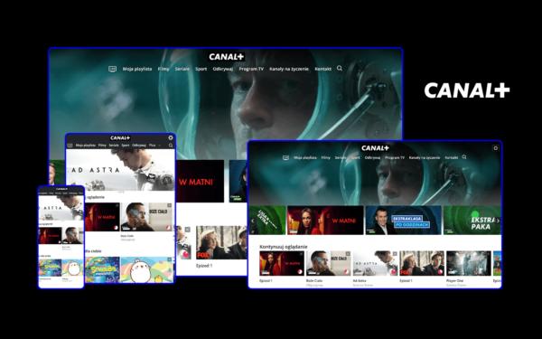 Wystartowała nowa usługa VOD w Polsce od CANAL+