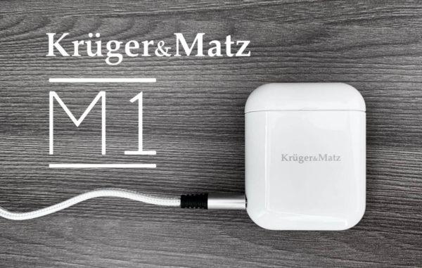 Jak działają słuchawki bezprzewodowe M1 Krüger&Matz?