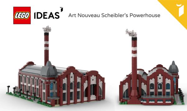 Zagłosuj na polski projekt Elektrowni Scheiblera na LEGO® IDEAS